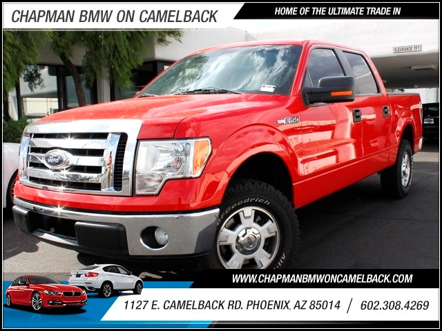 2011 Ford F-150 XLT Crew Cab 36372 miles 1127 E Camelback BUY WITH CONFIDENCE Chapman BMW