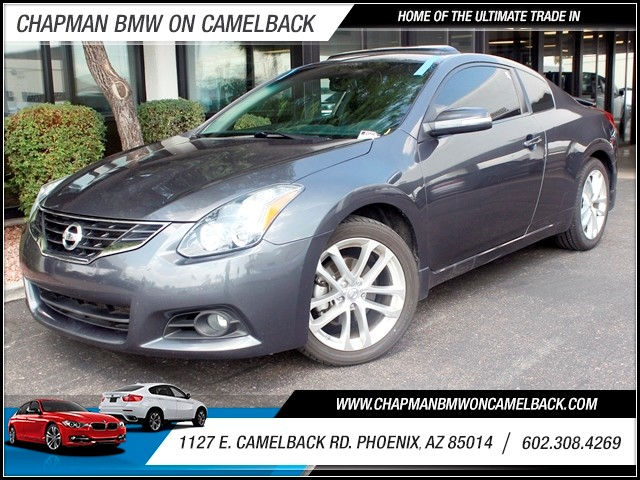 2011 Nissan Altima 35 SR 79135 miles 1127 E Camelback BUY WITH CONFIDENCE Chapman BMW is