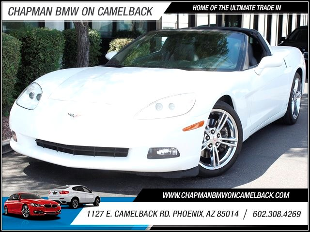 2008 Chevrolet Corvette 65146 miles 1127 E Camelback BUY WITH CONFIDENCE Chapman BMW is l