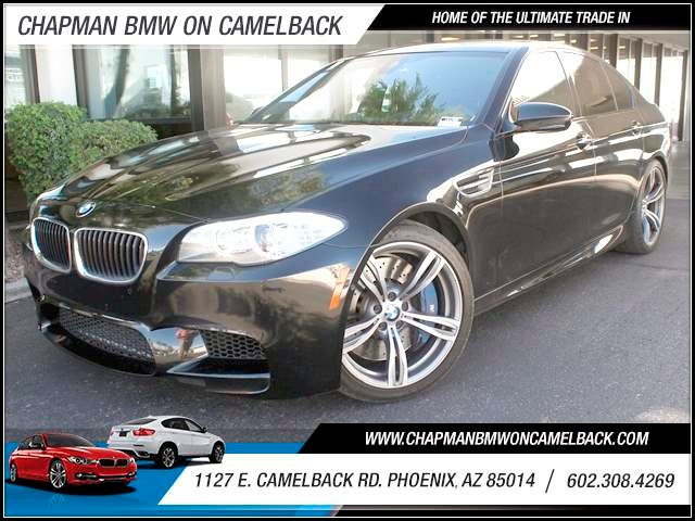 2013 BMW M5 23681 miles 1127 E Camelback BUY WITH CONFIDENCE Chapman BMW is located at 12