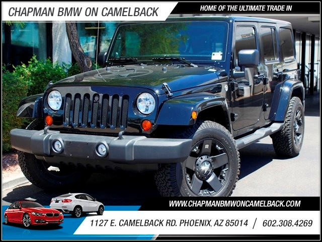 2011 Jeep Wrangler Unlimited Sahara 10001 miles 1127 E Camelback BUY WITH CONFIDENCE Chap