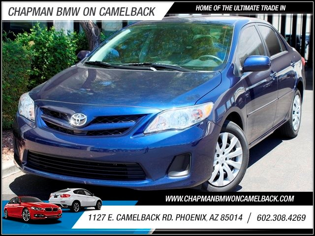2012 Toyota Corolla LE 32220 miles 1127 E Camelback BUY WITH CONFIDENCE Chapman BMW Used