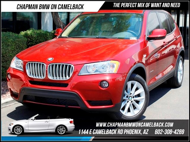 2013 BMW X3 xDrive28i 20833 miles 1144 E Camelback Summer is here and the deals are sizzling C