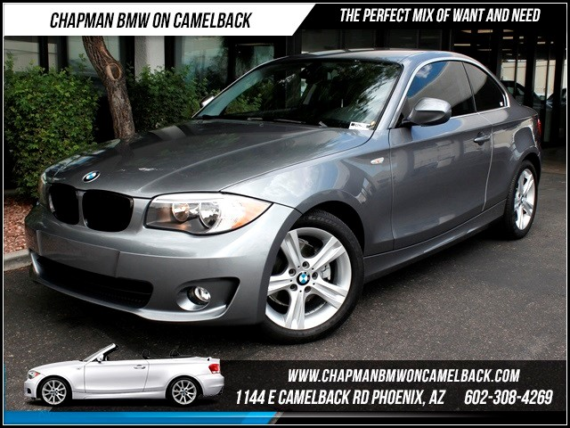 2013 BMW 1-Series 128i 14049 miles 1144 E Camelback The BMW Certified Edge Sales Event If you