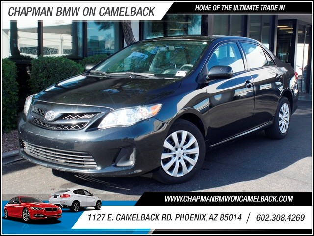 2012 Toyota Corolla LE 42418 miles 1127 E Camelback BUY WITH CONFIDENCE Chapman BMW is lo