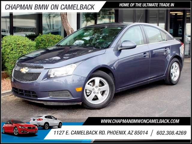 2013 Chevrolet Cruze LT 47191 miles 1127 E Camelback BUY WITH CONFIDENCE Chapman BMW is l