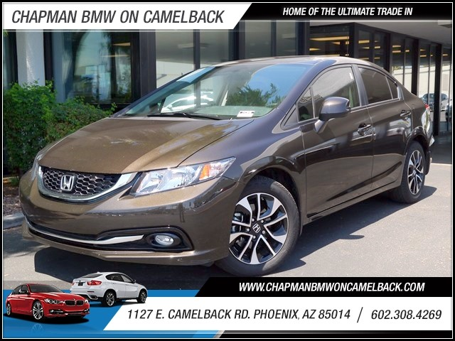 2013 Honda Civic EX-L 28925 miles 1127 E Camelback BUY WITH CONFIDENCE Chapman BMW is loc