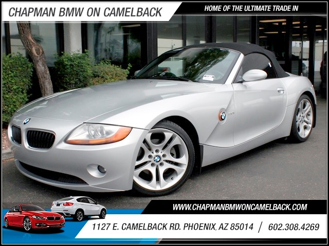 2004 BMW Z4 30i 74060 miles 1127 E Camelback BUY WITH CONFIDENCE Chapman BMW is located