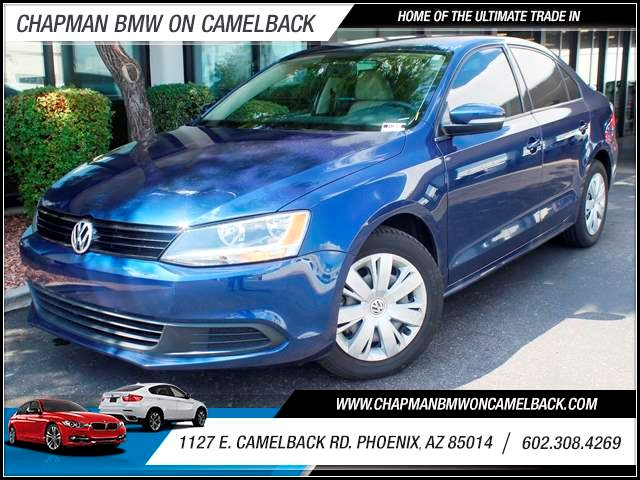 2011 Volkswagen Jetta SE PZEV 38262 miles 1127 E Camelback BUY WITH CONFIDENCE Chapman BM