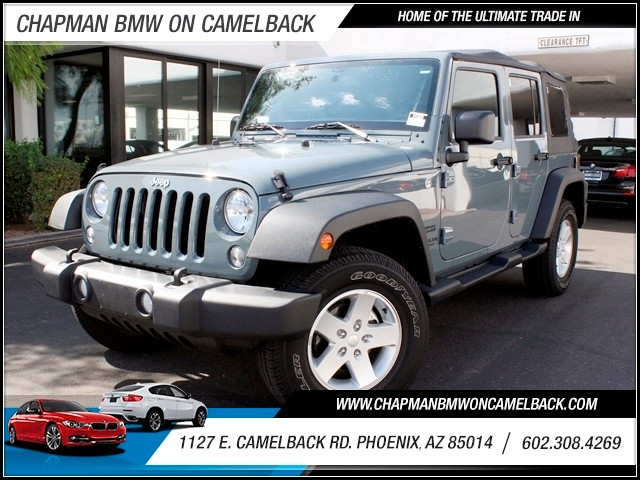 2014 Jeep Wrangler Unlimited Sport 8599 miles 1127 E Camelback BUY WITH CONFIDENCE Chapma