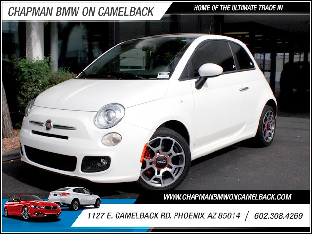 2012 FIAT 500 Sport 16754 miles 1127 E Camelback BUY WITH CONFIDENCE Chapman BMW is locat