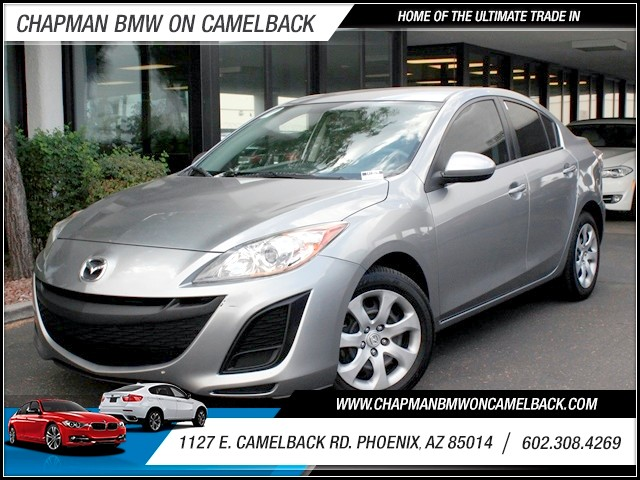 2010 Mazda MAZDA3 i Sport 53257 miles 1127 E Camelback BUY WITH CONFIDENCE Chapman BMW is