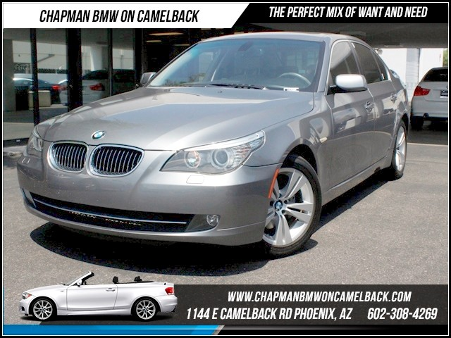 2009 BMW 5-Series 528i Prem Pkg 60642 miles 1144 E Camelback The BMW Certified Edge Sales Event
