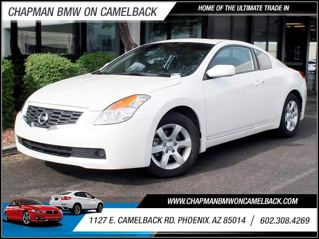 2008 Nissan Altima 25 S 32582 miles 1127 E Camelback BUY WITH CONFIDENCE Chapman BMW is