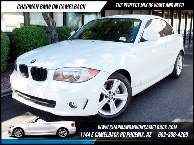 2013 BMW 1-Series 128i 11046 miles 1144 E Camelback The BMW Certified Edge Sales Event If you
