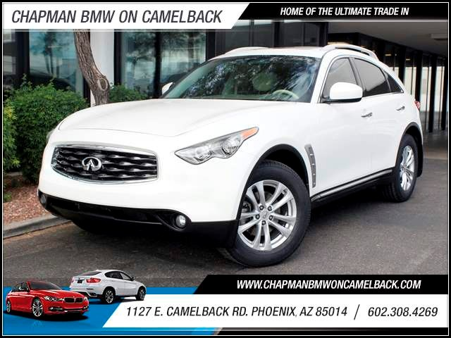 2009 Infiniti FX35 64208 miles 1127 E Camelback BUY WITH CONFIDENCE Chapman BMW is locate