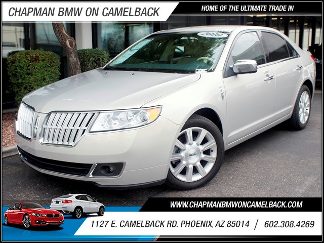 2010 Lincoln MKZ 25307 miles 1127 E Camelback BUY WITH CONFIDENCE Chapman BMW is located