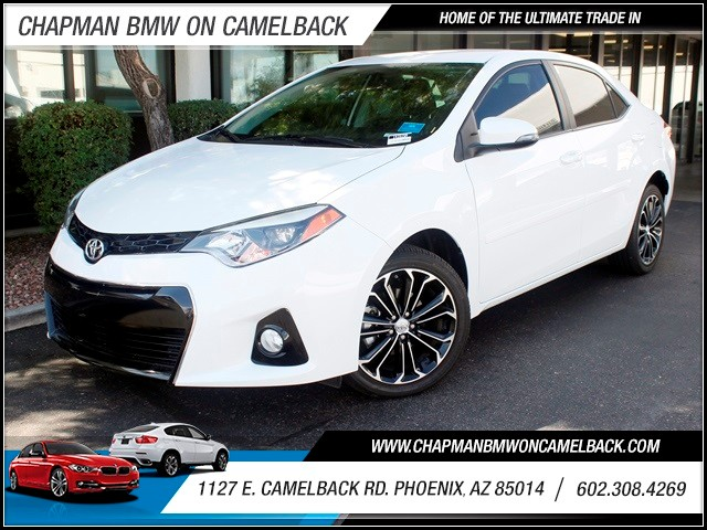 2014 Toyota Corolla S Plus 10555 miles 1127 E Camelback BUY WITH CONFIDENCE Chapman BMW i