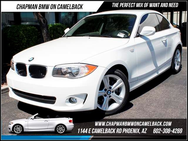 2013 BMW 1-Series 128i 9192 miles 1144 E CamelbackChapman BMW on Camelback in Phoenix is the CPO