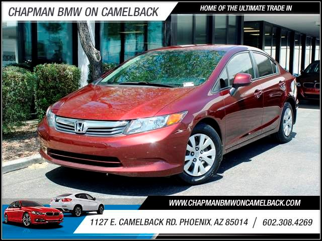2012 Honda Civic LX 94813 miles 602 385-2286 1127 E Camelback HOME OF THE ULTIMATE TRADE IN