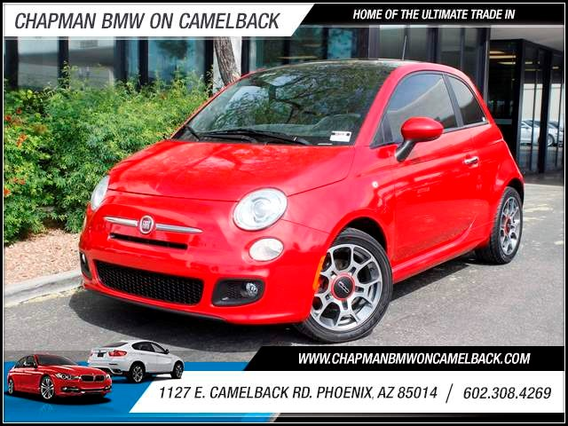 2012 FIAT 500 Sport 39210 miles 602 385-2286 1127 E Camelback HOME OF THE ULTIMATE TRADE IN