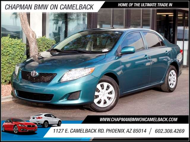2009 Toyota Corolla LE 65899 miles 1127 E Camelback BUY WITH CONFIDENCE Chapman BMW is lo