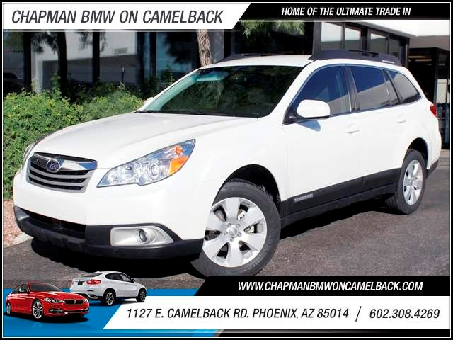 2012 Subaru Outback 25i 23660 miles 1127 E Camelback BUY WITH CONFIDENCE Chapman BMW is