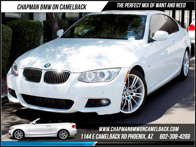 2012 BMW 3-Series Cpe 335i M SportPrem Pkg Nav 23705 miles 1144 E Camelback Summer is here and