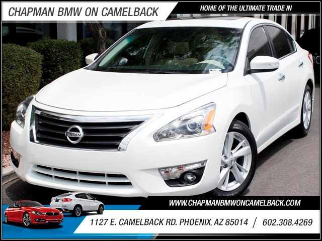 2013 Nissan Altima 25 SL 12651 miles 1127 E Camelback BUY WITH CONFIDENCE Chapman BMW is
