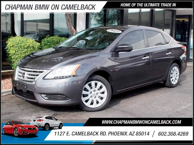 2013 Nissan Sentra S 19581 miles 1127 E Camelback BUY WITH CONFIDENCE Chapman BMW is loca
