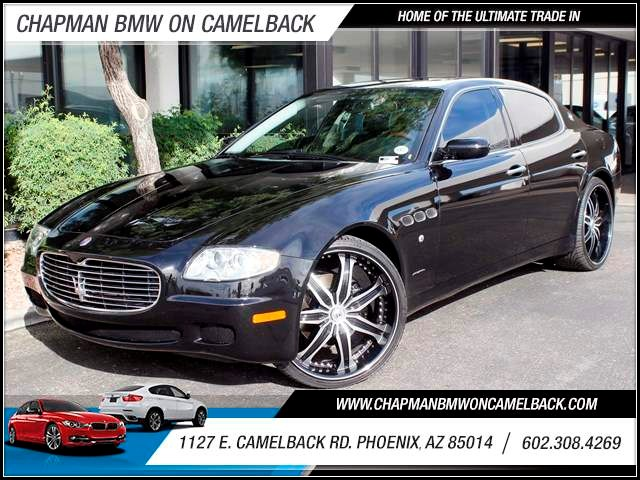 2008 Maserati Quattroporte Executive GT Automatic 28645 miles 1127 E Camelback BUY WITH CONFIDE