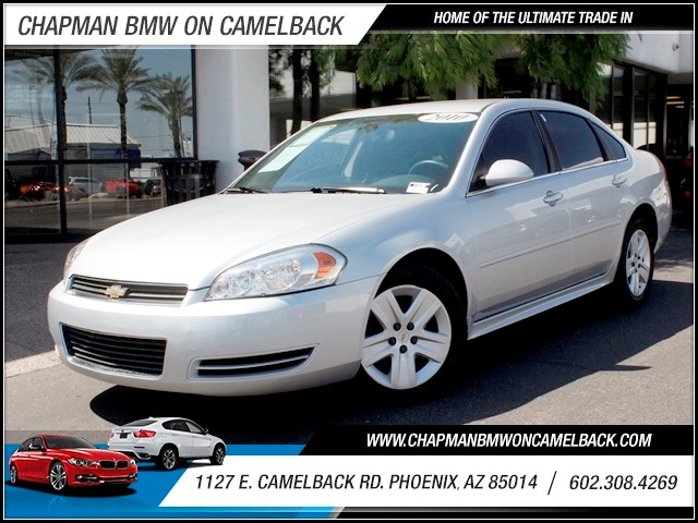 2010 Chevrolet Impala LS 70771 miles 1127 E Camelback BUY WITH CONFIDENCE Chapman BMW is