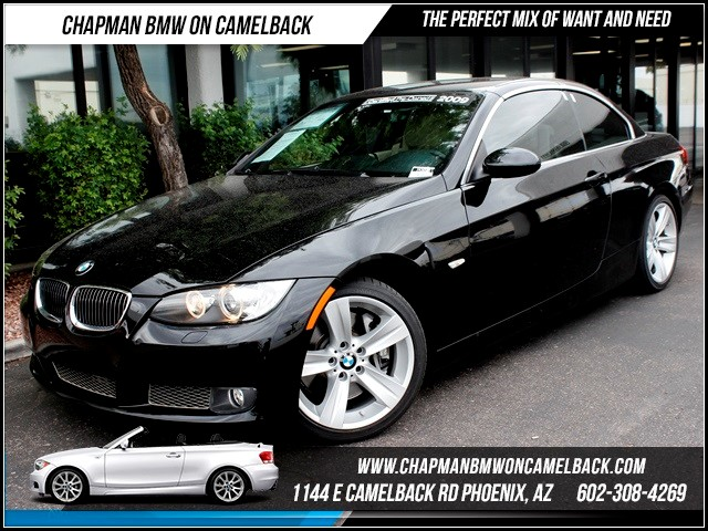 2009 BMW 3-Series Conv 335i PremSport Pkg Nav 59420 miles 1144 E Camelback The BMW Certified Ed