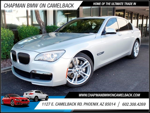 2012 BMW 7-Series 740i 60244 miles 1127 E Camelback BUY WITH CONFIDENCE Chapman BMW is lo