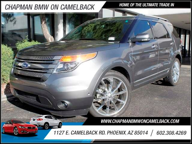 2012 Ford Explorer Sterling Gray Metallic 29952 miles 4 Wheel Drive One Previous Owner Satellite