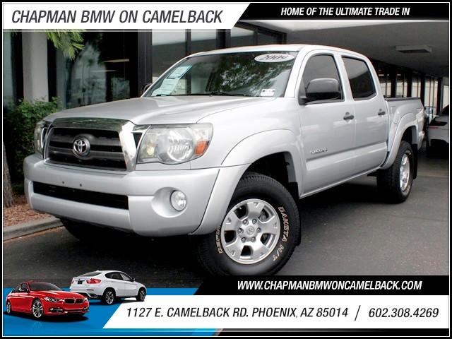 2009 Toyota Tacoma Crew Cab 72887 miles 1127 E Camelback BUY WITH CONFIDENCE Chapman BMW