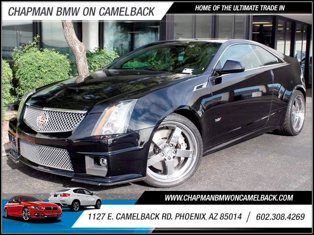 2011 Cadillac CTS-V 20717 miles 1127 E Camelback BUY WITH CONFIDENCE Chapman BMW is locat