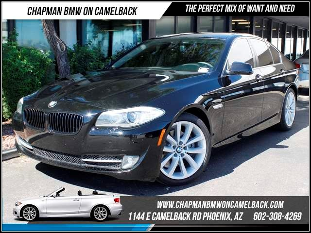 2012 BMW 5-Series 528i Tech Pkg Nav 44039 miles 1127 E Camelback BUY WITH CONFIDENCE Chap
