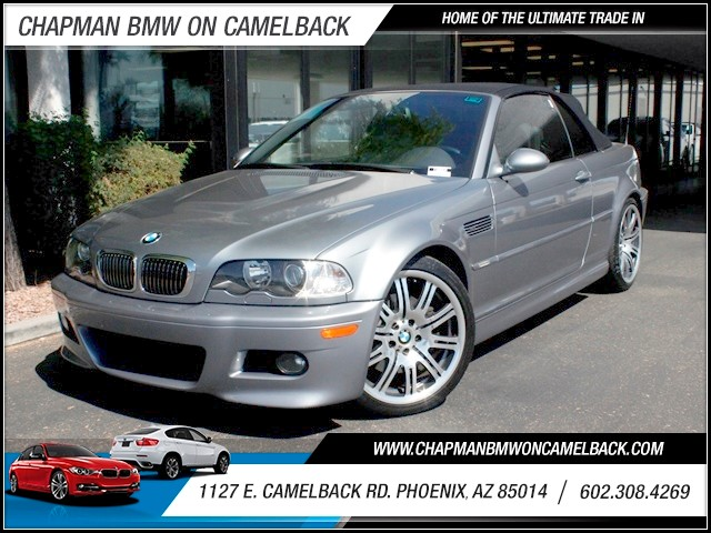 2006 BMW M3 58975 miles 1127 E Camelback BUY WITH CONFIDENCE Chapman BMW is located at 12