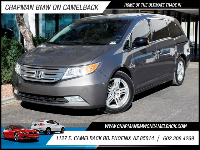 2012 Honda Odyssey Touring 28319 miles 1127 E Camelback BUY WITH CONFIDENCE Chapman BMW i
