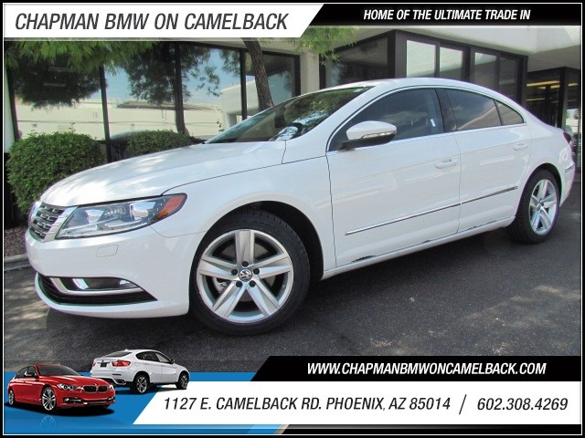 2014 Volkswagen CC Sport PZEV 28309 miles 602 385-2286 1127 E Camelback HOME OF THE ULTIMATE