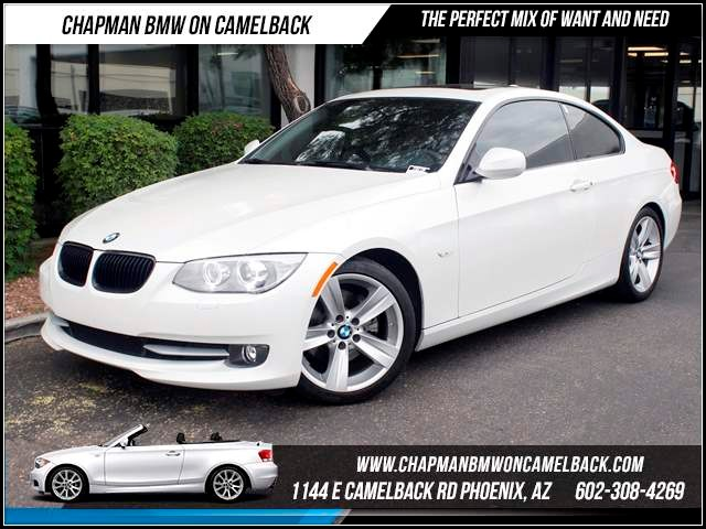 2011 BMW 3-Series Cpe 328i 19863 miles 1144 E CamelbackHappier Holiday Sales Event on Now Chap