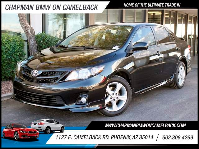 2012 Toyota Corolla S 53295 miles 1127 E Camelback BUY WITH CONFIDENCE Chapman BMW is loc