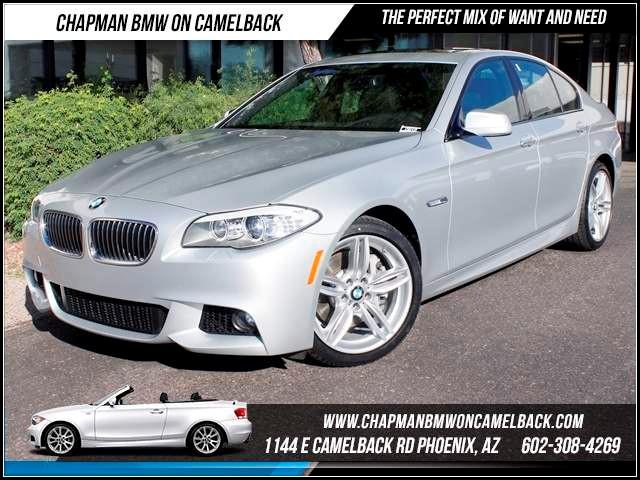2012 BMW 5-Series 535i M Sport Pkg Nav 22030 miles 1144 E CamelbackChapman BMW on Camelback in P