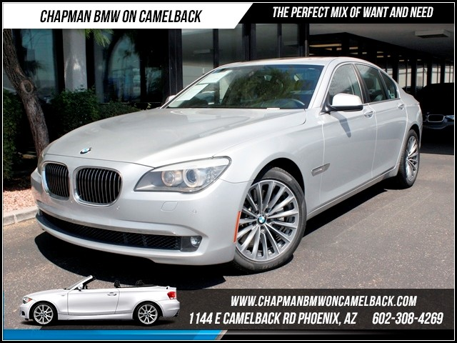 2011 BMW 7-Series 750i Lux Seat Heads up Dis Nav 38785 miles 1144 E Camelback Summer is here and