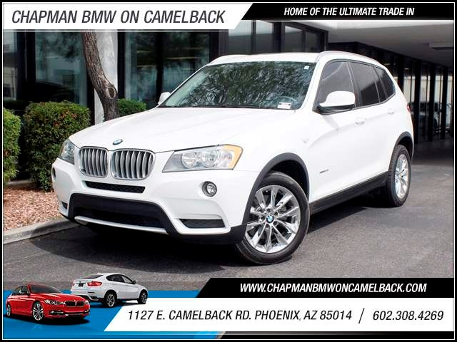 2013 BMW X3 xDrive28i Prem Pkg 43522 miles 602 385-2286 1127 E Camelback HOME OF THE ULTIMAT