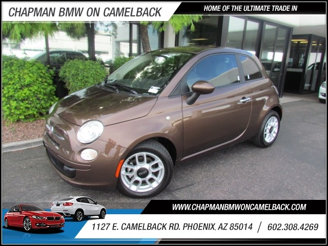 2012 FIAT 500 Pop 22488 miles 1127 E Camelback BUY WITH CONFIDENCE Chapman BMW is locate
