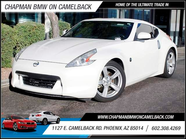 2011 Nissan 370Z 70133 miles 1127 E Camelback BUY WITH CONFIDENCE Chapman BMW is located