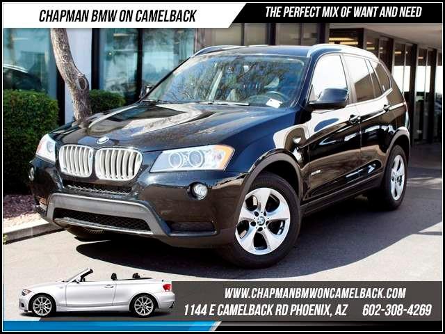 2011 BMW X3 xDrive28i PremConv Pkg Nav 39035 miles 1144 E CamelbackMarch Madness Sales Event
