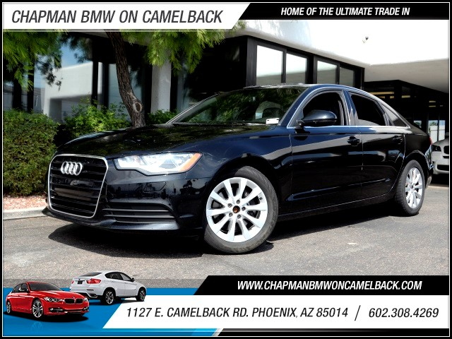 2012 Audi A6 20T Premium 71213 miles 602 385-2286 1127 E Camelback HOME OF THE ULTIMATE TRA